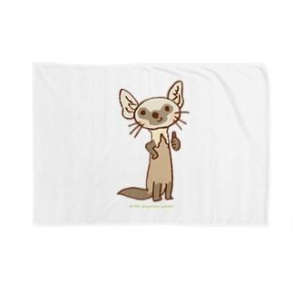 テンのキャラ:サムズアップ👍 Blankets