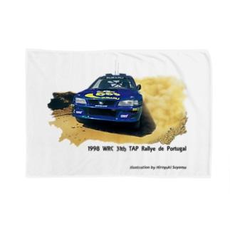 1998年スバルインプレッサ555WRC  Blankets
