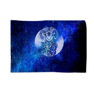 夢羊ver.2 泥中のレプリカ(カラー フル) Blankets