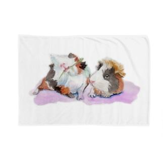 いもちゃんともるちゃん Blankets