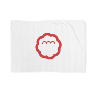 エンエンラ シンボルロゴ(赤) Blankets