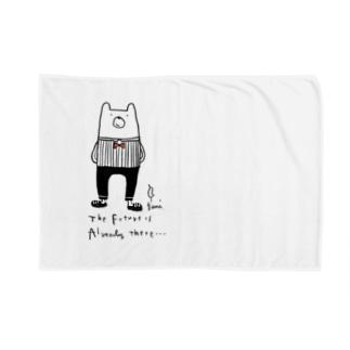 クマさん Blankets