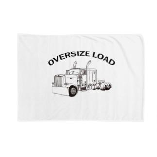 OVERSIZE LOAD トレーラー コンボイ Blankets