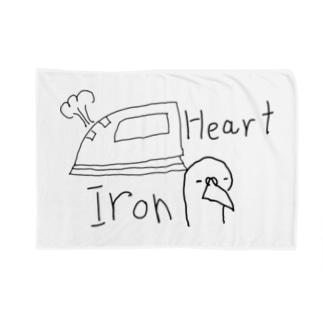 Iron heart Blankets