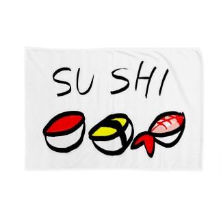 k¥リョウのSUSHI Blankets
