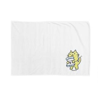 トラちゃん2(Color) Blankets