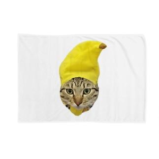 バナナこちょら Blankets