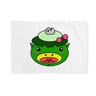 サカナカッパコの顔 Blankets