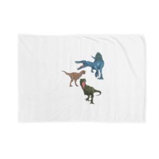 馬小屋の恐竜 Blankets