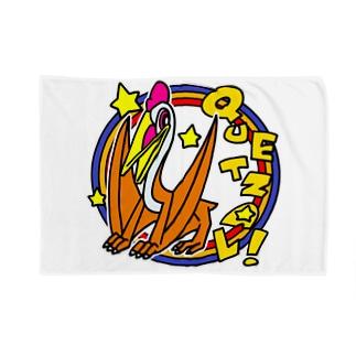 POP!ケツァルコアトルス Blankets