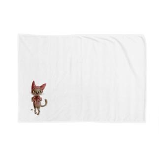 猫頭巾 Blankets