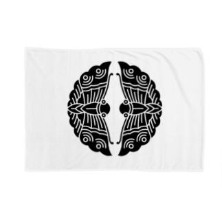 大谷刑部吉継(対い蝶) Blankets