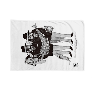 """ Sailor and Mermaid "" 3 Blankets"