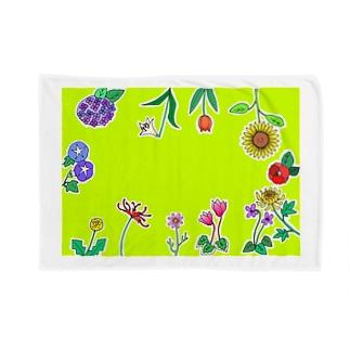 NIPPONのお花たち Blankets