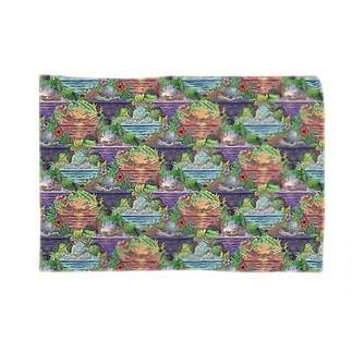 Polynesian Days Blankets