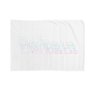 Do! Kids Lab公式 キッズプログラマー パステル系ロゴ Blankets