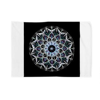 カレイドスコープ−点描曼荼羅 Blankets
