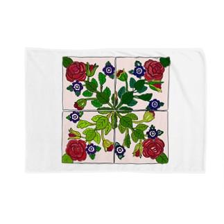 ポルトガルのタイル Blankets