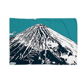 富士は日本一の山 Blankets