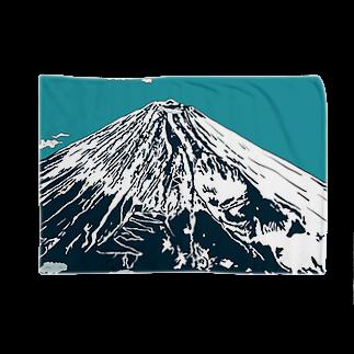 らぴの堂の富士は日本一の山 Blankets