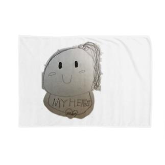 にっこりポンポンちゃん Blanket