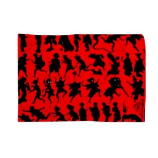 しん板かげゑづくし Blankets