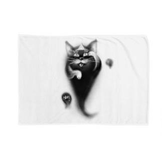オバケネコ Blankets