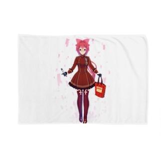 【阿賀野 栞】オリジナルグッズ Blankets