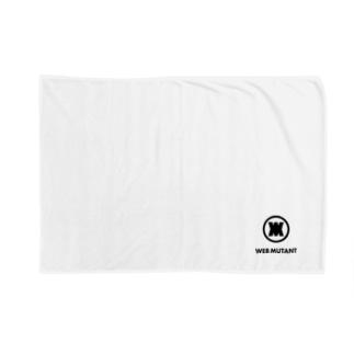 WEB MUTANTロゴTシャツ2 Blankets