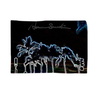 【Midnight Sunrise Series】Coconut Whisper ブランケット