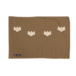 小文地桐紋付韋胴服柄 ブランケット Blankets