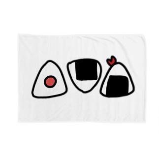 おにぎり Blankets