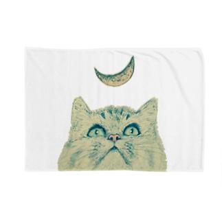 月と猫 Blankets