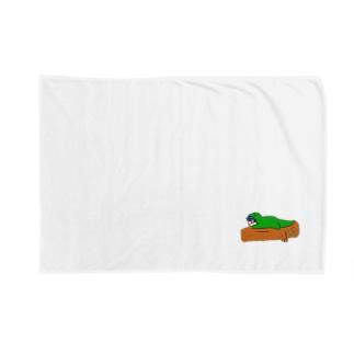 着ぐるみ(へび兼トカゲ) Blankets