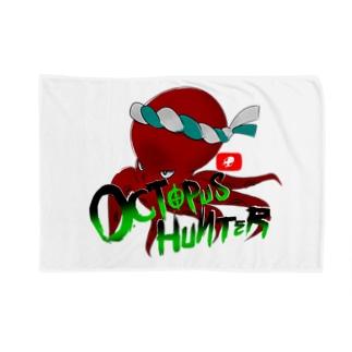 OCTOPUS HUNTER ブランケット Blankets