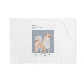 柴犬 ID Blankets