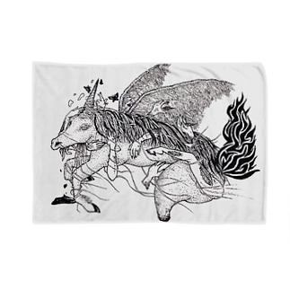 処女厨のユニコーン Blankets