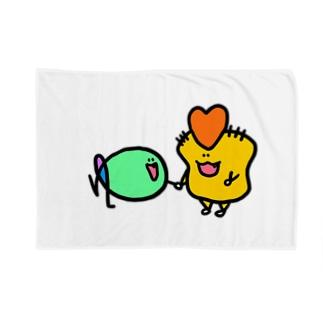 わいさんとゆぎょちゃん Blankets