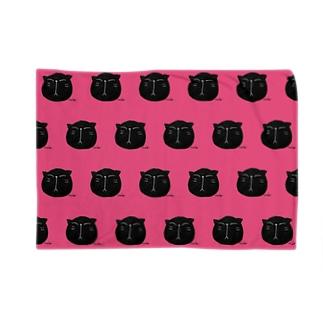 黒にゃんこ🎶 Blankets