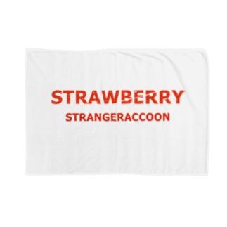 STRAWBERRY×STRANGERACCON Blankets