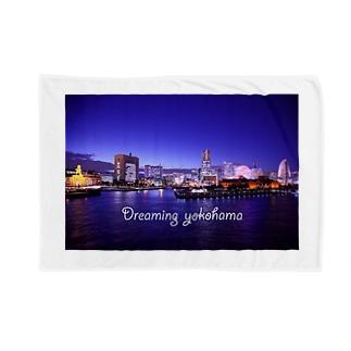 横浜夜景1 Blankets
