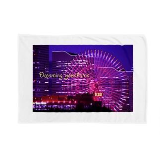 横浜夜景4 Blankets