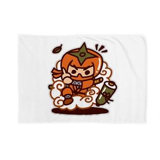 柿忍者、参上! Blankets