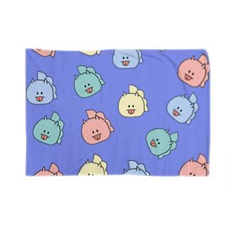 とりきちがいっぱい(ぱーぷる) Blankets