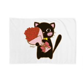 貴方へ愛の花束を 黒猫さん Blankets