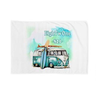 サーフプリントT Blankets
