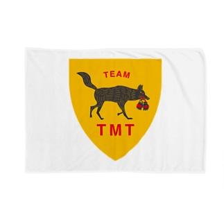 TEAM TMTエンブレム Blankets