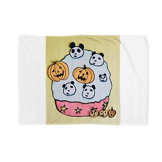 ハロウィンパンダ Blankets