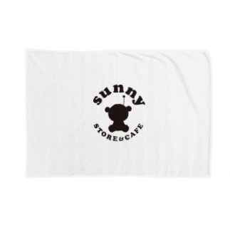 sunny STORE&CAFE ロゴ Blankets