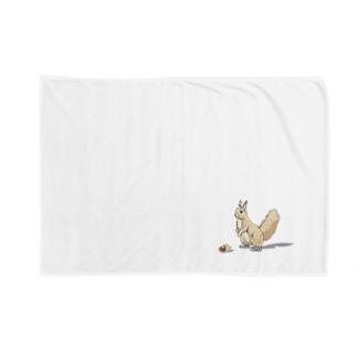 三浦綾子記念文学館WEBショップの見本林のエゾリス Blankets